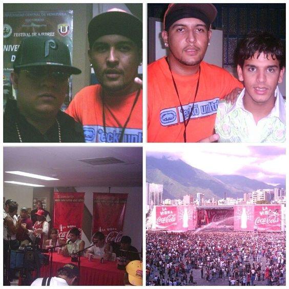 Jueves Retro! #TBT #2004 Con #hectorelfather y  concierto en #venezuela La Vibra Coca Cola #concert #concierto #cocacola #puertorico #music #musica #reggaeton #live