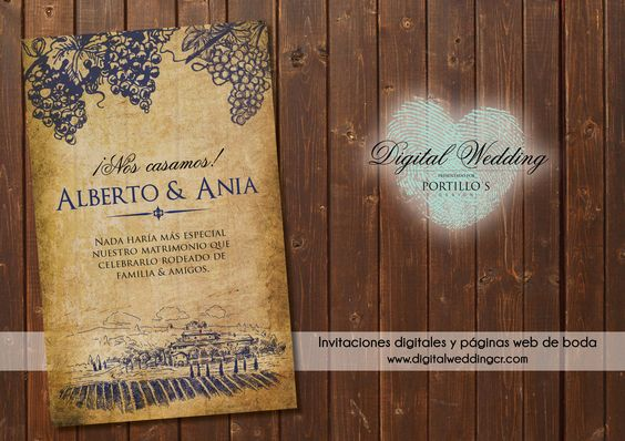 Invitaciones digitales online con registro de confirmación en línea y páginas web de boda  Tel.: (506) 2238-2860 / (506) 8874-8614  For english contact (506) 7111-6393  E-mail: info@digitalweddingcr.com  www.digitalweddingcr.com
