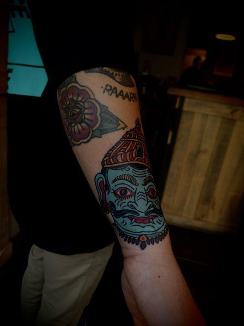 Guyletatooer on nate at mysterty tattoo club paris for Tattoo art club