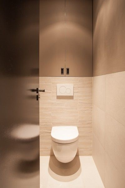Toilets and design on pinterest for Deco wc noir