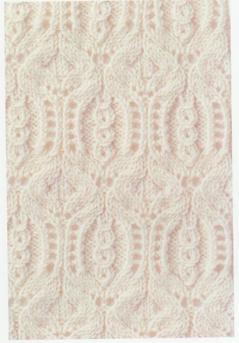 Cable Lace Knitting Stitches : Lace Knitting Stitch #61 Knitting Pinterest Cable, Pomegranates and Pat...