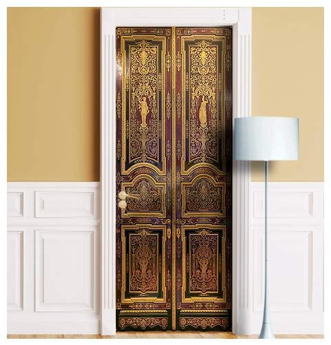Amazon Com Wonderlandwalls Palace Mural For Door Wall Fridge One Piece Sticky Decal Cover Wrap Sticker Cling Hermitage Entran Door Wall Home Home Decor