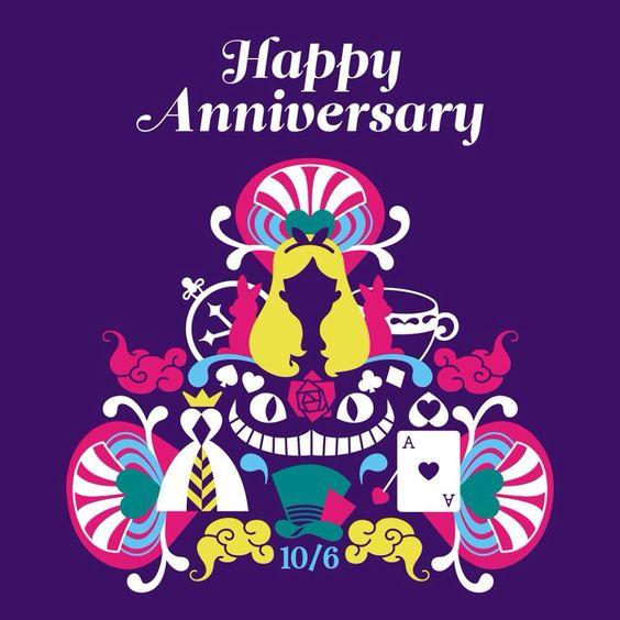 Happy Anniversary Alice!  7/28/51 #wonderland