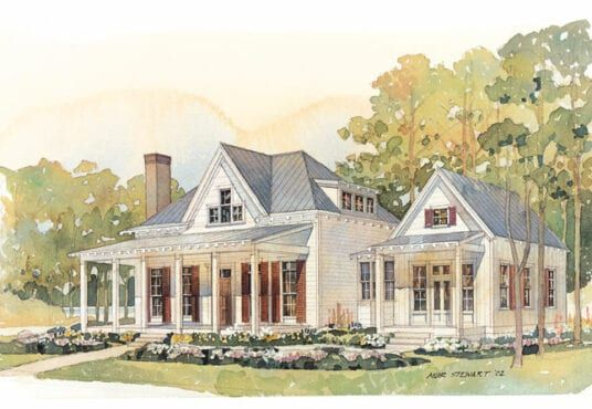 Eric Moser Cottage Of The Year Crane Island Florida In 2020 Southern House Plans Coastal Cottage French Country House Plans
