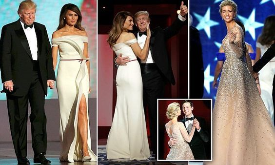 What First Lady Melania Trump and First Daughter Ivanka Trump Wore to the Inaugural Ball