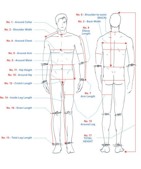 Do you know how to take measure of your body? here a step ...