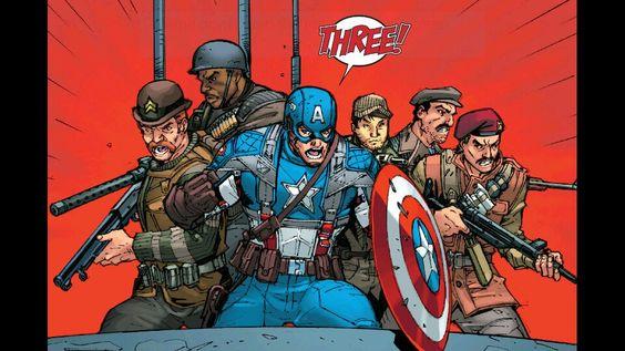Captain America & The Howling Commandos