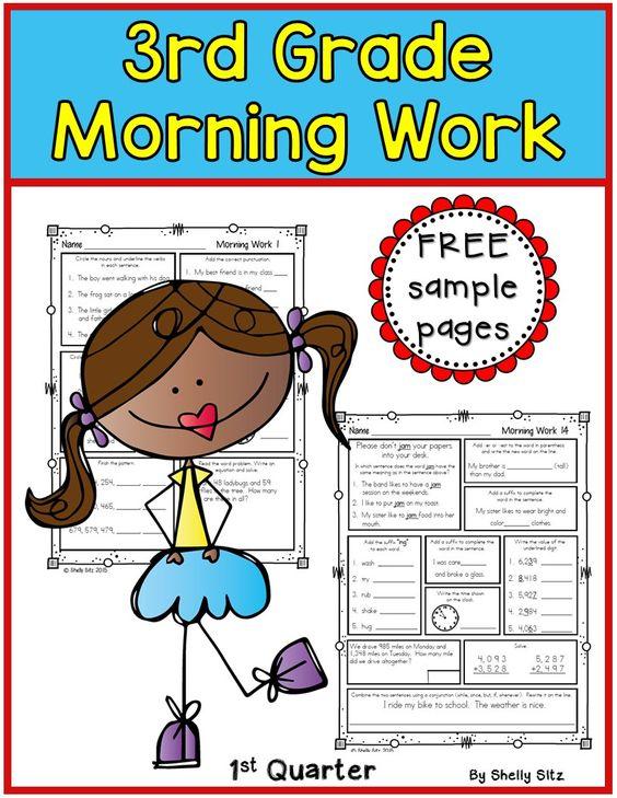 3rd grade grammar skills worksheets