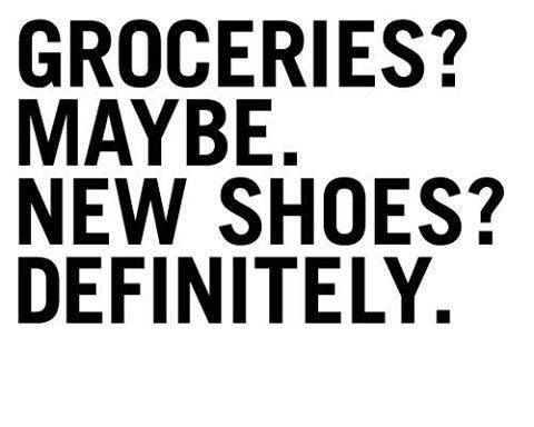 New Shoes??? DEFINITELY!