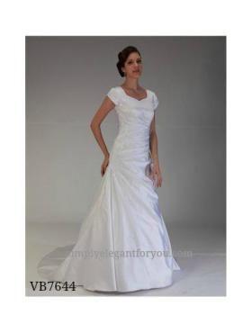 Modest wedding dress venus bridal fall 2014 for Simply elegant wedding dresses