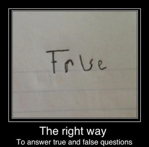 HA!: Giggle, Answer True, Funny Stuff, False Questions, Kid, High Schools