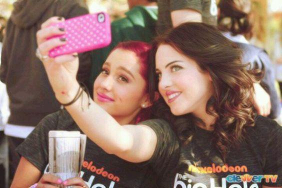 Liz and Ariana (Jade and Cat)