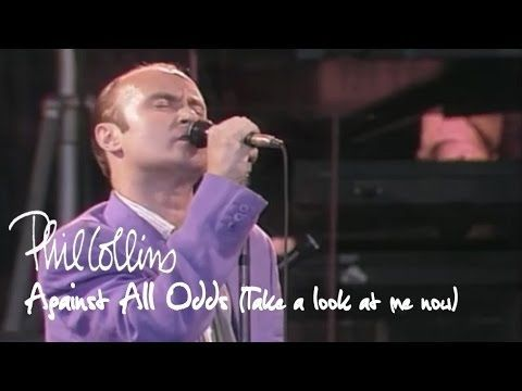 Phil Collins Against All Odds Take A Look At Me Now Official Music Ophelia Ryan Video Musicali Canzoni Musica