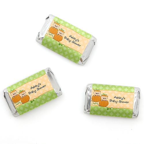 Baby Shower Favors Stickers Showers Candy Bar Twin