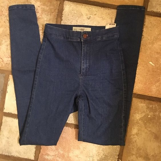 topshop Joni jeans great condition Topshop Pants Skinny