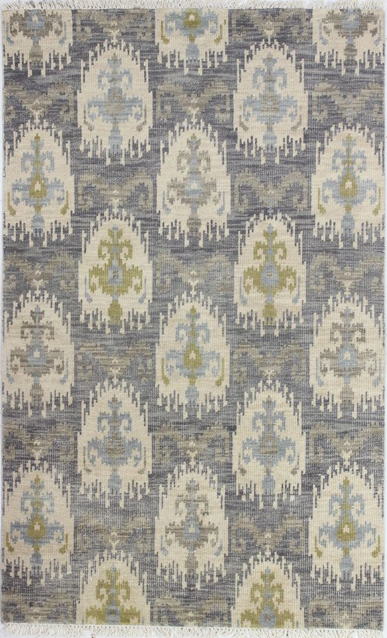 Manno Hand-Tufted Gray Area Rug