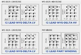 12 Wire 3 Phase Motor Winding Diagrams Wiring Diagrams Update Diagram Periodic Table Wire