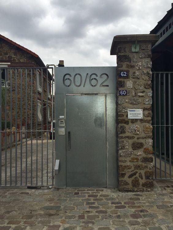 Porte / parc de la Villette / Paris