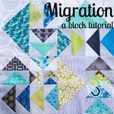 Migration - a bee block - Displacement Activity