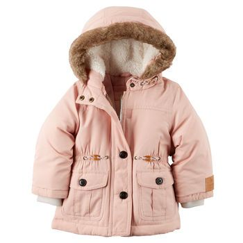 Carter's Faux Fur Trim Parka