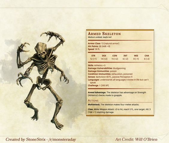 Bones of the earth 5e