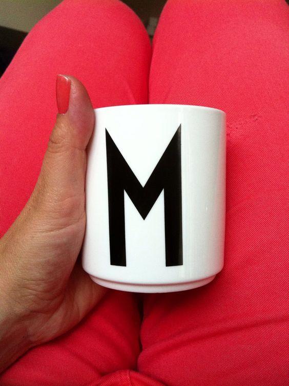 Design letters. M