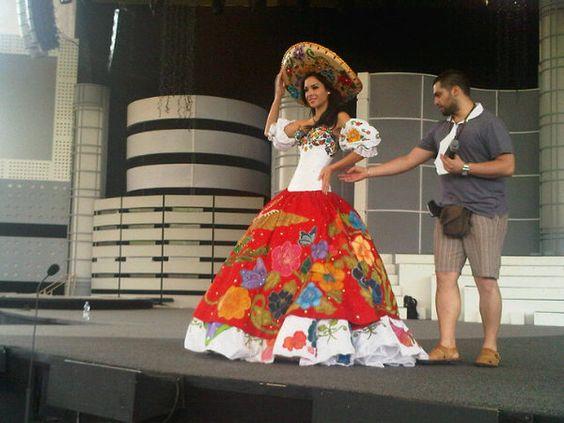 Image detail for ,DE LOS TRAJES TIPICOS DE NB MEXICO 201O ☻☺ , Reinas