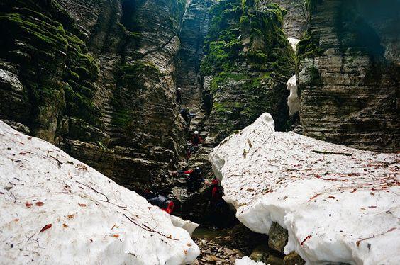 Bradeto canyon, Mt Tymfi
