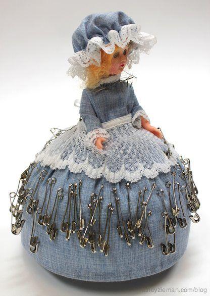 Nancy Zieman/Sewing With Nancy/Pincushions/vintage pincushions | Nancy Zieman Blog