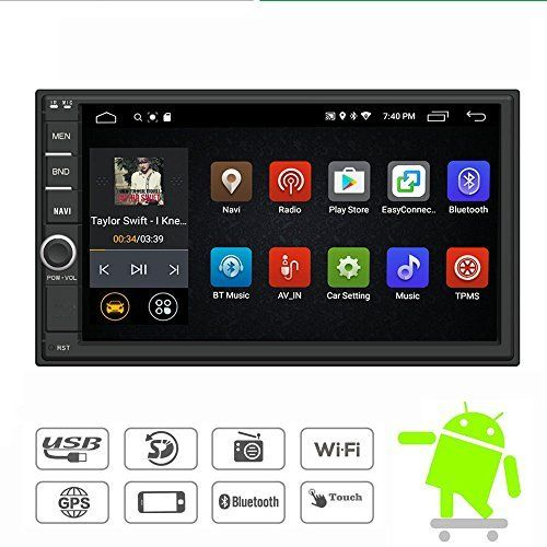 Yody Android 7 1 Double Din Car Stereo Radio 7 Inch Best Offer Automotive Shop Ineedthebestoffer Com Double Din Car Stereo Car Stereo Gps Navigation