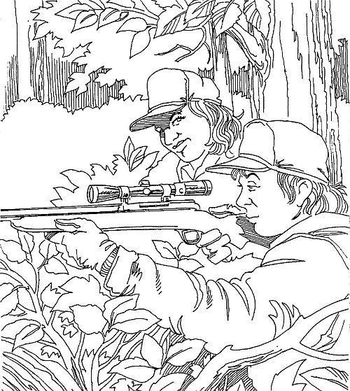 Deer Hunter Coloring Pages Deer Hunting Coloring Pages Deer Hunters Coloring Pages Deer Hunting