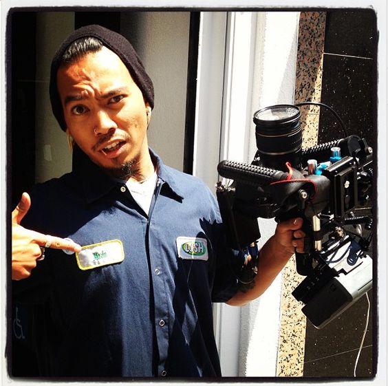 Derrick of Industrial, videographer extraordinaire