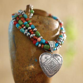 southwest boho necklace