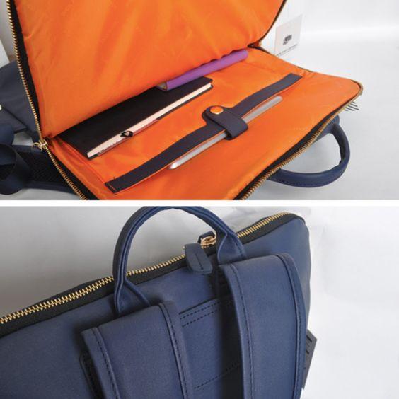 Рюкзак 'Office' (разные цвета) / Синий — Ягудза