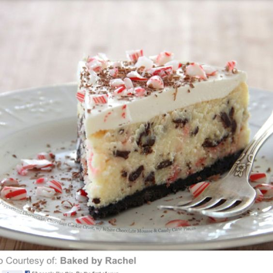 Peppermint cheesecake, Peppermint and Cheesecake on Pinterest