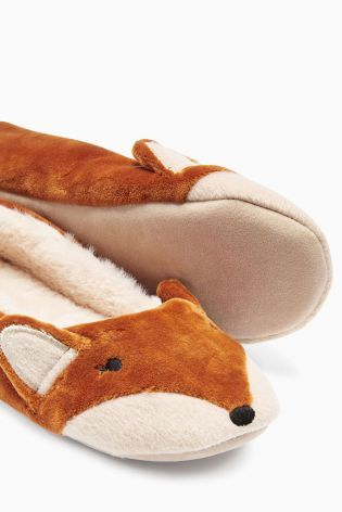 Buy Ginger Fox Ballerina Slippers from the Next UK online shop