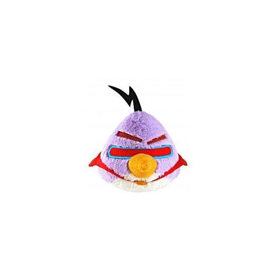 Angry Birds - Pájaro Rosado Espacial De Peluche Con Sonido 5''