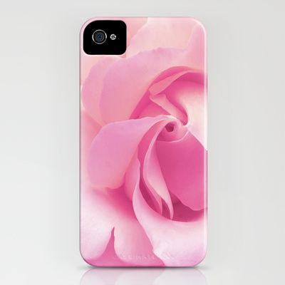 Soft pink rose iPhone Case by Shalisa Photography - $35.00