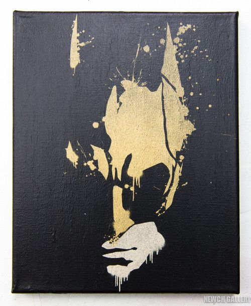 A Pretty Awesome Batman Painting That I Would Adore In My Room