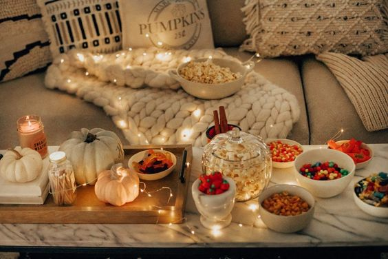 COZY SPOOKY MOVIE NIGHT - STEPHANIE STERJOVSKI