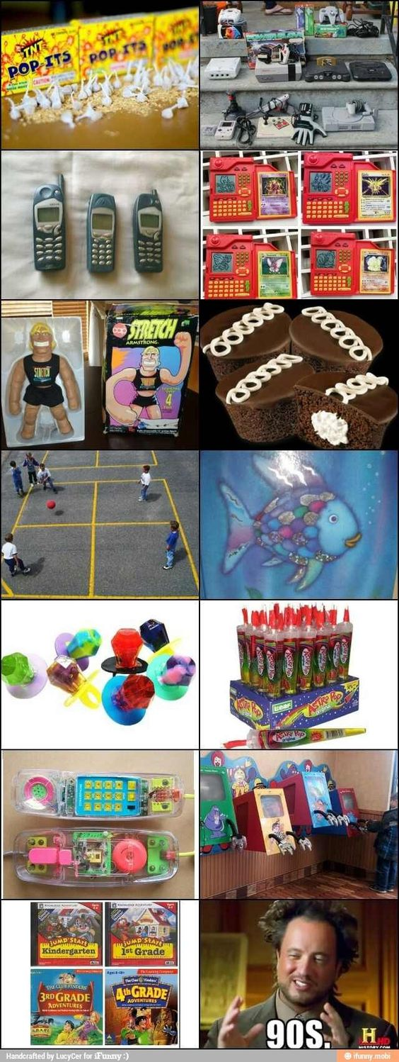 90's- best 10 years of humanity Omg 4 square! I loved all of these as a kid!