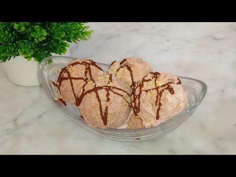 ايس كريم الذ واطيب ايس كريم بدون كريمة سائلة وبدون حليب مركز محلى بمكونات جد بسيطة اقتصادي Youtube Food Breakfast Muffin