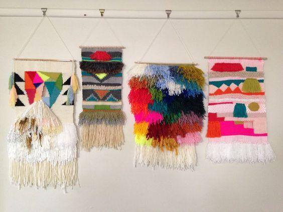 vauxvintage:  Weaving by Maryanne Moodie