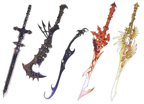 Anima Beyond Fantasy   ... -Sama » Photos » Anima Beyond Fantasy » sword_designs_by_Wen_M