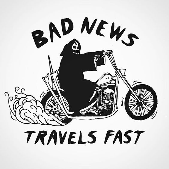 T-shirt design I did for the nice folks over at @theselvedgeyard , tees available at their shop in New Hope  #badnews #edroth #tsy #brappppp