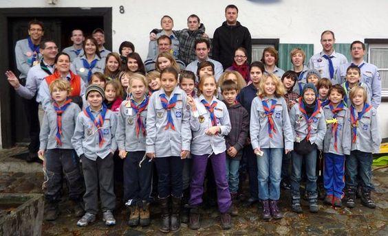Verband christlicher Pfadfinderinnen und Pfadfinder auf Waldweihnacht in Hinznang - Nördlingen - myheimat.de