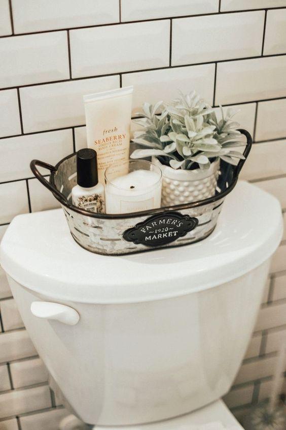 Amanda Holstein | Advice on Fashion, Beauty, Home and Life saved to Living | Bathroom DecorPin3kboho bathroom decor #style