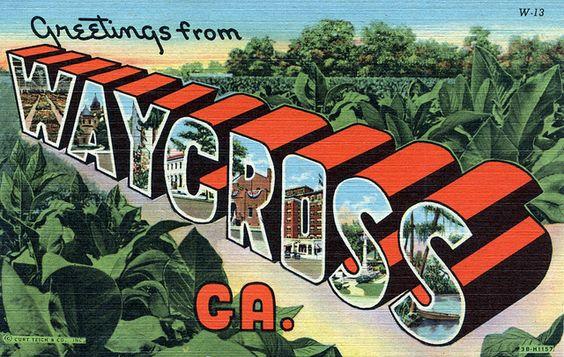 Waycross, Georgia, 1943