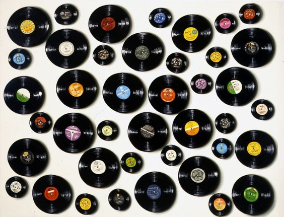 Records   Lisa Milroy
