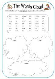 Cloud Activities Worksheets | cloud worksheets